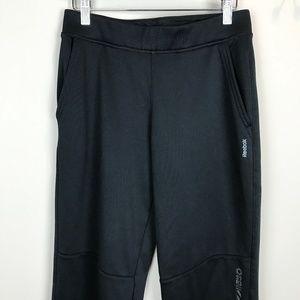 Reebok Youth Sz L Black Knit Pants